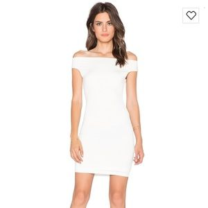 NEW! Off the shoulder white dress